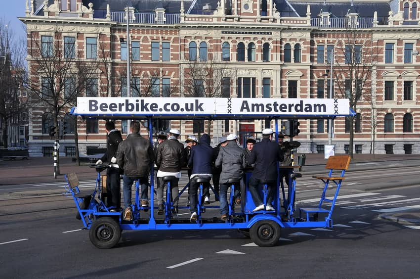 Amsterdam Bachelor Party Ideas